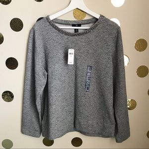 Gap Jeweled Sweater